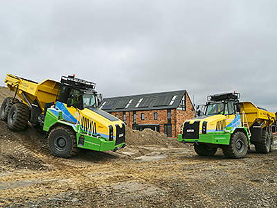 Terex trucks hit paydirt on speed and efficiency