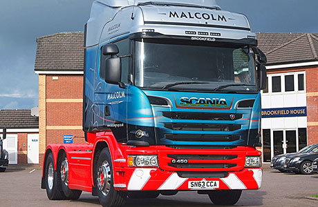 Scotland welcomes its first Euro 6 Scania truck