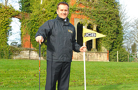 JCB tees off year with plans for £30m course