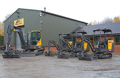 Compact excavators have become a firm favourite