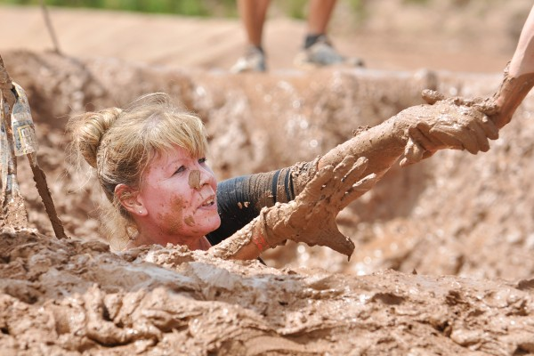 Time to muck-in for mud run!