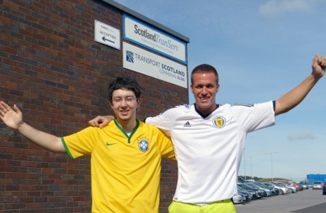 Young engineer swaps Rio for Rutherglen!