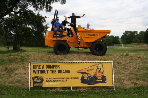 Hewden golf tournament raises £10k for charity
