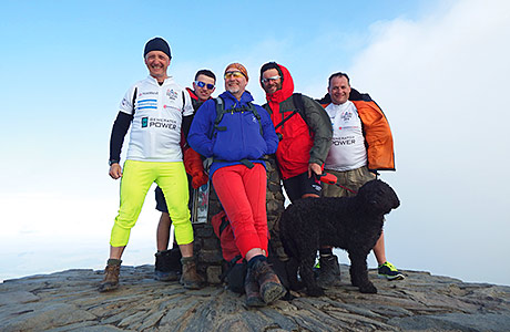 Hire firm in Three Peak trek