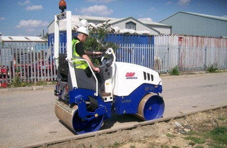 Hamm on a roll with GAP Plant Hire