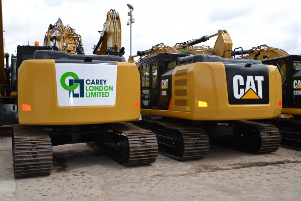 First Cat 311F LRR in Europe purchased