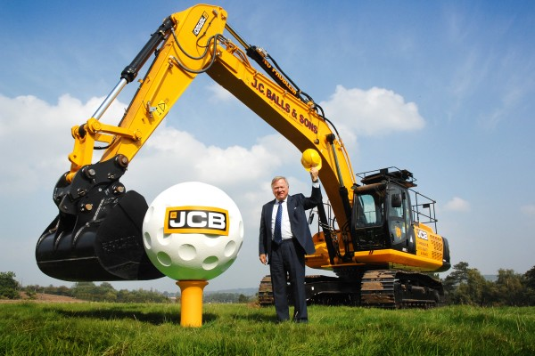 Tee off for £30m JCB golf course