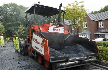 Volvo paver Surfaces for WPI