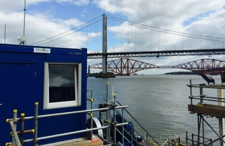 Aberdeen modular cabin firm supplies accommodation for Forth Crossing Project