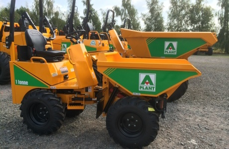 A-plant in £6 million dumper investment
