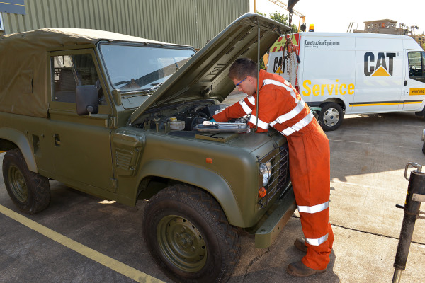 Finning joins defence support group bid consortium