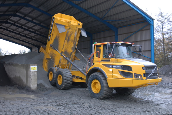 Volvo A30G for Tillicoultry Quarries