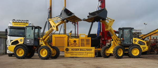 Case closed on new compact wheel loaders for Roger Bullivant