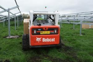 The Bobcat T770 onsite in Witney