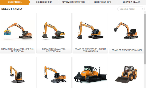 Online shopping made easy with Case Construction