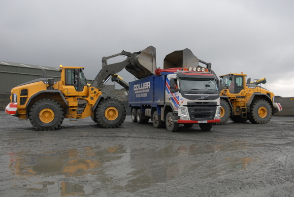 Cowdenbeath firm opts for a Volvo double