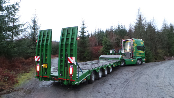 Reaping the rewards: Andover Trailers first choice for timber firm
