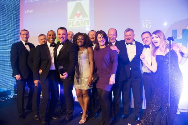 A-Plant crowned 2015 Hire Company of the Year