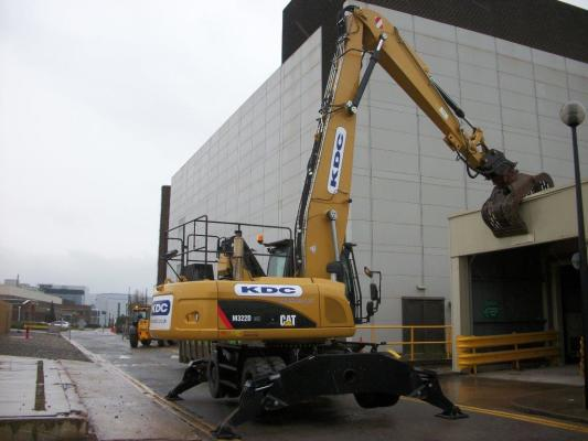 Four years on KDC Demolition invest in four more CAT® M322Ds