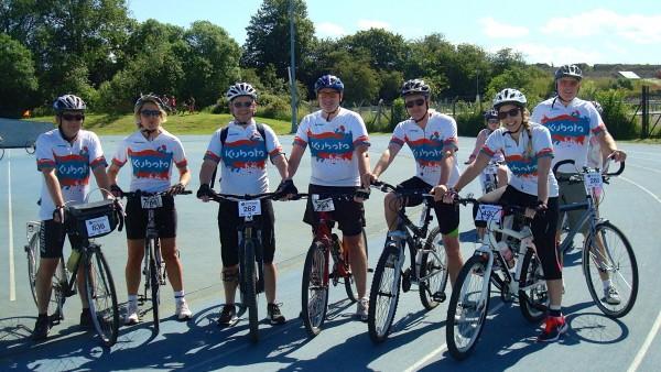 Team Kubota target Tour de Vale trophy