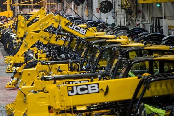 """Resilient"" JCB hit by decline in developing markets"