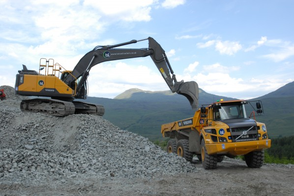 TSL brings in Volvos for hydro projects