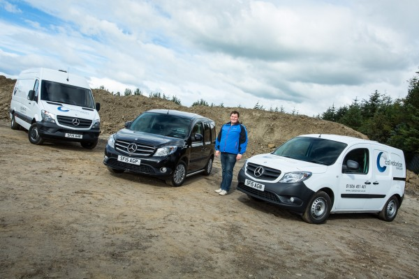 Livingston business in the  black with new Citan Sport
