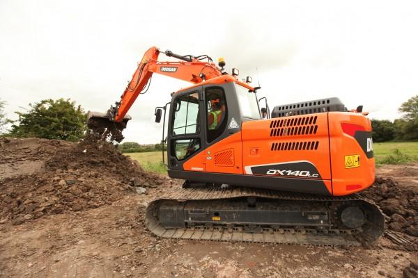 Latest Doosan excavator 'sets new benchmark'
