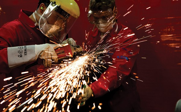 Weld Off sparks into life