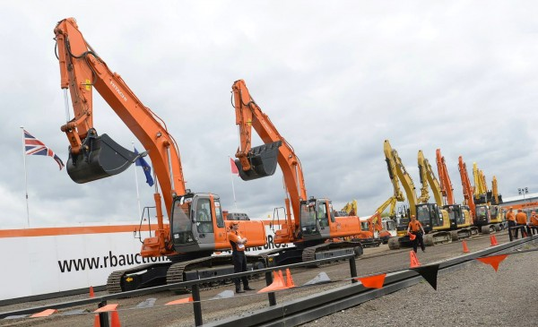Machines up for grabs at Ritchie Bros auction