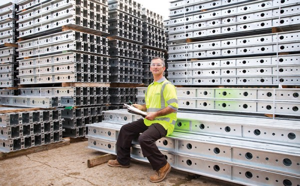 Formwork equipment supports bypass project