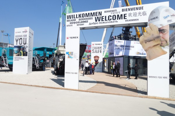Terex to put 'Safety First'
