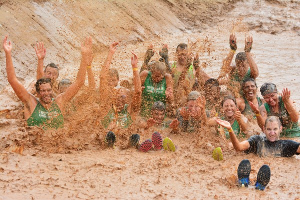 Runners dig deep for JCB Mud Run