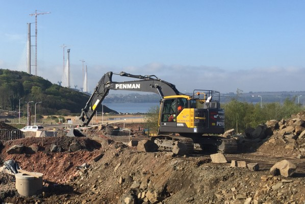 Kirkcaldy firm in full swing with new Volvo