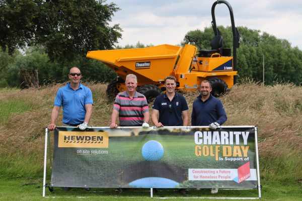Hewden golf day goes with a swing