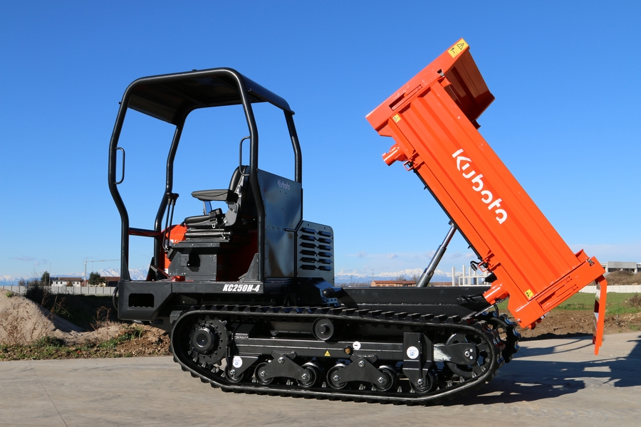 Three and easy for new tracked carrier