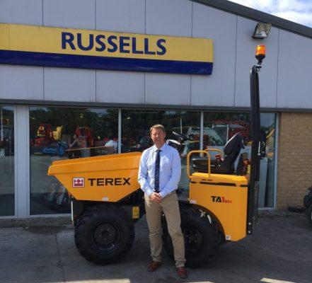 Terex 'Russells' up new UK distributor