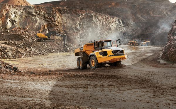 "Volvo CE sees sales rise by over a third due to ""increased market demand"""