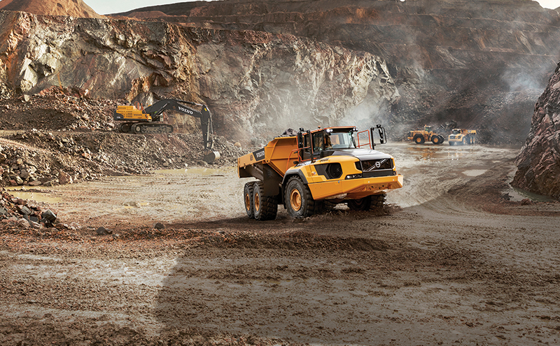 """Volvo CE sees sales rise by over a third due to """"increased ..."""