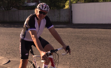 Miller boss gets on his bike for charity