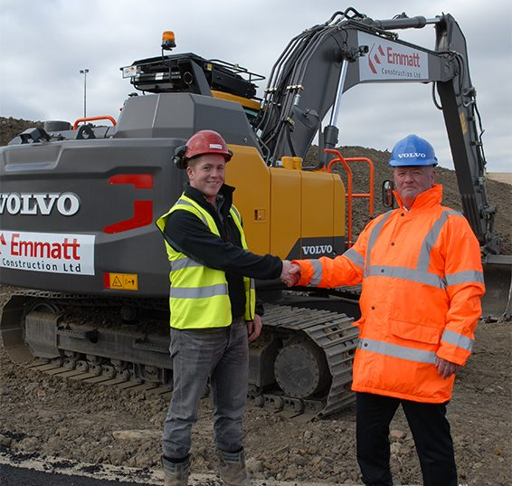 Excavator purchase is a dream come true for Matthew