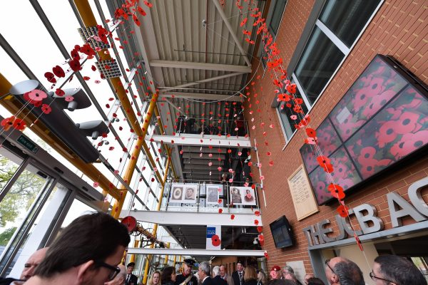 JCB students in poignant poppy tribute