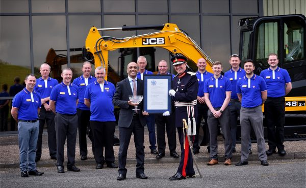 JCB lands prestigious export award