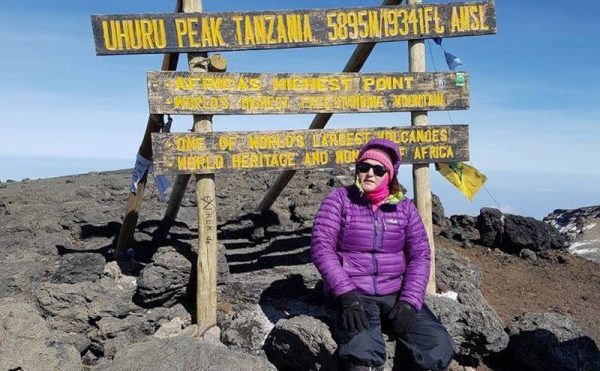 Case manager moves mountains for charity
