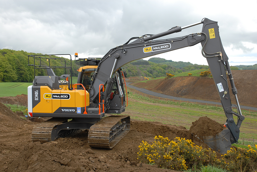 RJ McLeod expands Volvo excavator range   Project Plant
