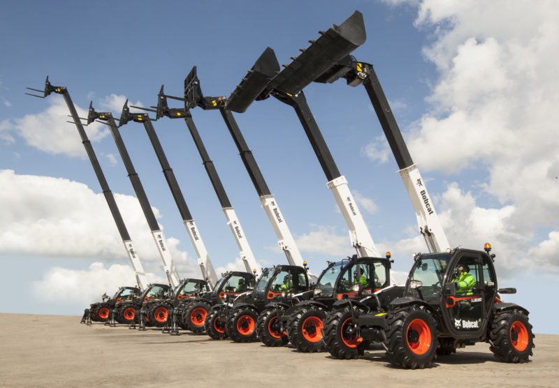 New telehandler range gives Bobcat customers a lift