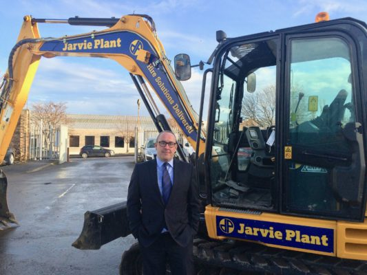 Jarvie targets expansion both north and south of the border
