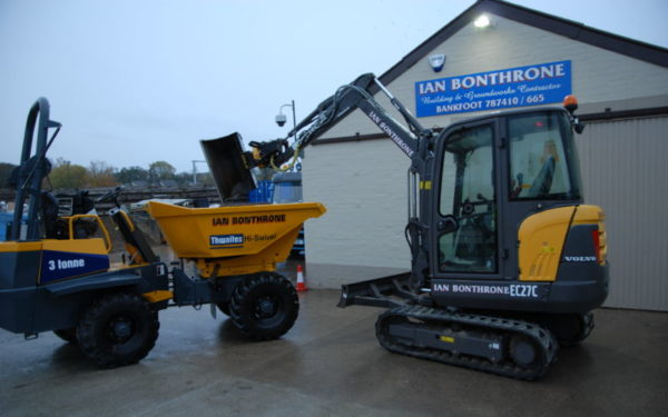 "New compact excavator is ""just right"" for Bankfoot contractor"