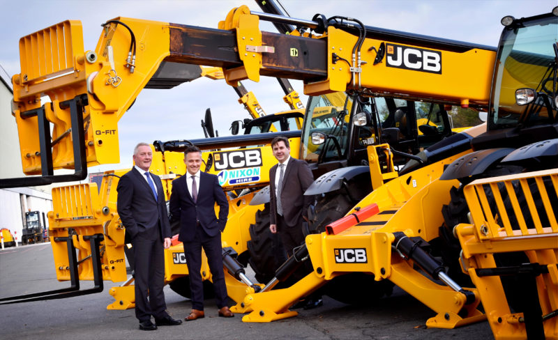 Huge telehandler order expands Nixon's reach