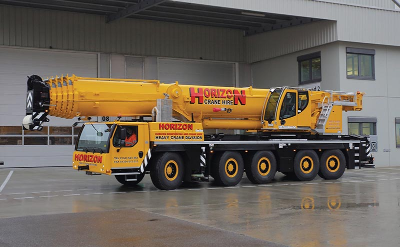 New cranes on the Horizon for Scots firms